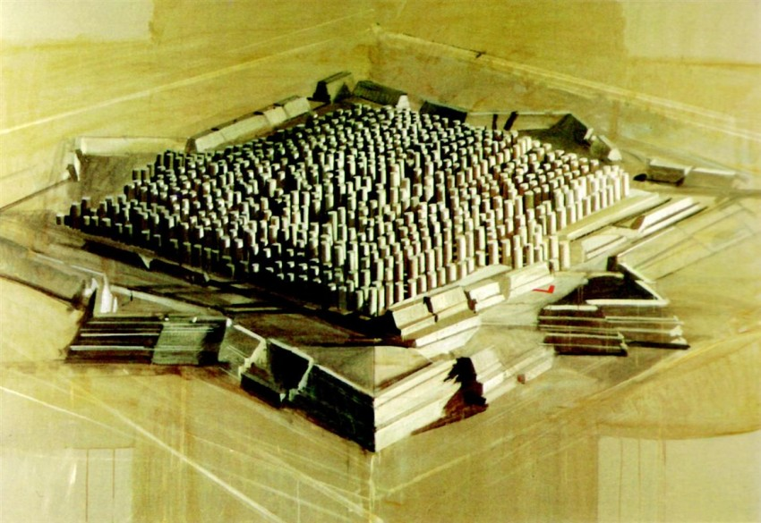 Fortified City, Horia Damian, 1986